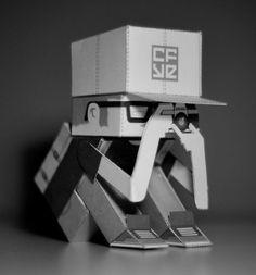 Paper Toys Crackboy by Mr Naze