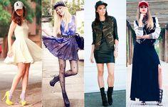 Como Usar: Boné - com vestido