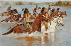 Richard Thomas, Victors at Little Bighorn, Made of Oil on canvas kp
