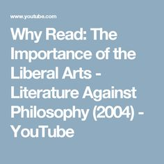 importance of art and literature