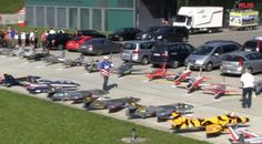 Model Jets at the RC Air Show in Switzerland Come check out some RC Planes at http://www.rcfunfactor.com