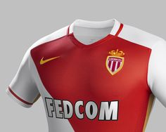 When a kit gets plaudits every year for its sheer beauty it would be wrong to change it up too much and that's the approach Nike have taken with the new Monaco home strip. As Monaco, Football Outfits, Sheer Beauty, Soccer, Kit, Tops, Fashion, Moda, Football
