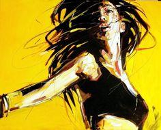 "Saatchi Art Artist Anna Bocek; Painting, ""El Circo"" #art"