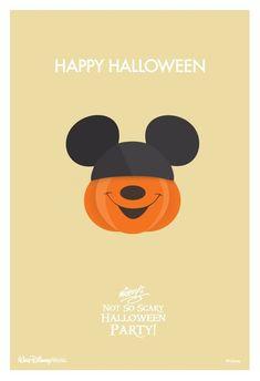 Mickey's Not So Scary Halloween Party! Mickey Mouse Disney Disney world Disneyland