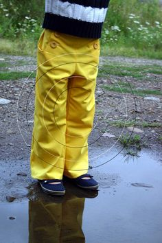 Yellow Sailboat Pants, Oliver + s by thejennigirl, via Flickr