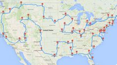 Planning your next road trip? A Ph.D. candidate at Michigan State University has an algorithm that will plot the best route to take to see any number of sites. But it won't plan your bathroom breaks.