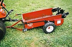 Our customer tell us her 2004 Millcreek Model 15 Mini manure spreader is still going strong today!