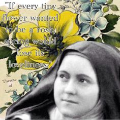 St. Therese of Lisieux.