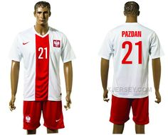 http://www.xjersey.com/poland-21-pazdan-home-euro-2016-jersey.html POLAND 21 PAZDAN HOME EURO 2016 JERSEY Only 33.11€ , Free Shipping!