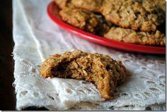 oatmeal banana peanut butter cookies 051-002