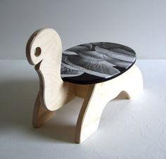 custom hand painted turtle mushroom wooden by BrentSchreiber, $130.00