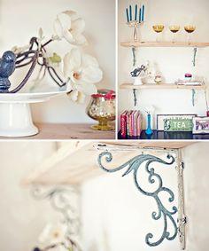 gorgeous shelf brackets