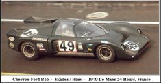 Chevron B 16 Ford (1.771 cc.) (A)  Ian Skailes  John Hine