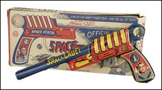 I sleep with a Space Pistol under my pillow. So what?
