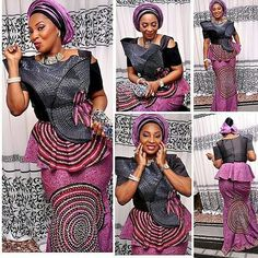 Ankara Peplum Skirt and Blouse Styles 2017 for ladies. Wadup dearies, these are popular trends of ankara styles. Peplum Blouse styles are common African Men Fashion, African Dresses For Women, African Wear, African Attire, African Fashion Dresses, African Women, African Kids, African Style, African Outfits