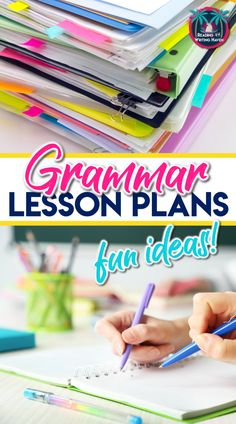 Get Your Nerd On: How to Structure A Grammar Lesson - Reading and Writing Haven