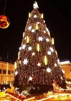 10 árboles de navidad más famosos del mundo. | 10Puntos.com