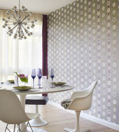 Atomic Wallpaper by Sanderson | Jane Clayton