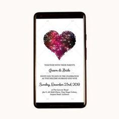 Bride & Groom  Invitation