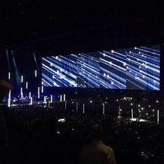 """""""Shine like stars"""" #U2ieTour #ZiggoDome #Amsterdam #U2"""