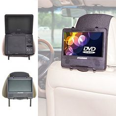 TFY Universal Car Headrest Mount Holder for Portable DVD ... https://www.amazon.com/dp/B00O0S97SE/ref=cm_sw_r_pi_dp_KqSNxb1TYC3BN