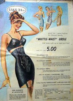 Girdle advertisement