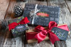 Free Chalkboard Christmas Gift Labels & Tags | Worldlabel Blog