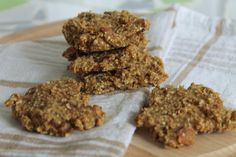 suikervrije havermout koekjes Weight watcher ppt 2 per koekje voor volgende ingredienten: - 100g havermout - 1 banaan - 1 appel - 50g rozijnen - 100 g chocolade