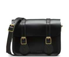 "Dr Martens 7"" Leather Satchel"