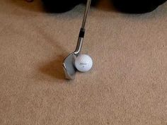 Golf Tip - Hit Down on the Ball - YouTube