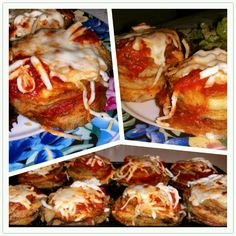 #Vegan #glutenfree #eggplant #medallions delicious!!