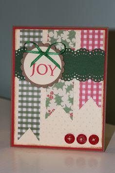 Joy Christmas Card