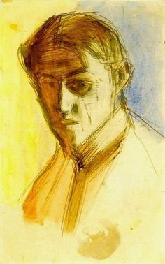 "Pablo Picasso - ""self-portrait"". 1901"