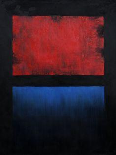 No. 14 (Red, Blue over Black)Mark Rothko
