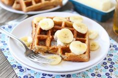 Brown Butter Banana Waffles | Two Peas and Their Pod (www.twopeasandtheirpod.com)