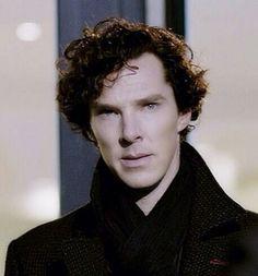 Sherlock as played by Benedict  Cumberbatch