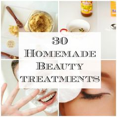 Homemade beauty treatments. In this economy, i need this.
