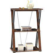 Whalen® Astoria 3-Shelf Bookcase, Brown Cherry