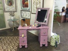 Annie Sloan Chalk Paint - Henrietta Annie Sloan Chalk Paint Henrietta, Vanity, Mirror, Painting, Furniture, Home Decor, Dressing Tables, Powder Room, Decoration Home