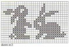Cross Stitching, Cross Stitch Embroidery, Embroidery Patterns, Cross Stitch Patterns, Knitting Charts, Baby Knitting Patterns, Crochet Patterns, Knitting Ideas, Easy Knitting