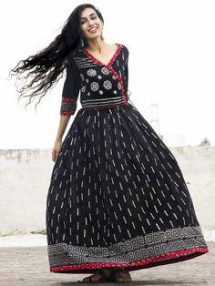 Buy Authentic Hand Block Printed Designer Dresses, Sarees, Dupattas printed in natural & vegetable colors at InduBindu.com.✻ 100% Authentic ✻ COD ✻ Easy Returns