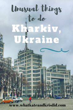 If you are going to visit Kharkiv, there are some great places to visit but also lots of unusual things to do in Kharkiv, Ukraine. In this post, we take you through the Kharkiv attractions and show you what to do there. #ukrainetravel #visitukraine Stuff To Do, Things To Do, Unusual Things, Amusement Park, Walking Tour, Amazing Architecture, Teaching English, Wild West, Great Places