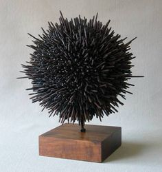 Great examples of welded sculptures. especially like the screw balls!