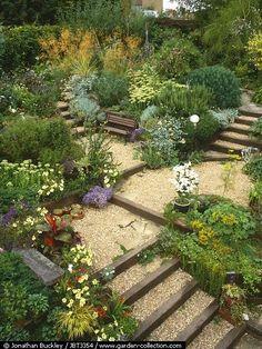 jardins em terrenos