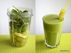Skvělý je i zázvor. Smoothie Detox, Smoothie Recipes, Smoothies, Nutribullet, Health Diet, Healthy Lifestyle, Food And Drink, Nutrition, Weight Loss