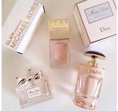 Soft Girly Pink Perfumes | Michael Kors Dior Prada | Fragrance