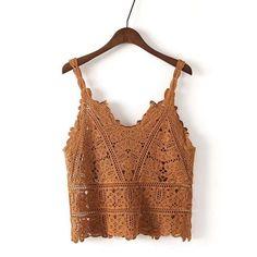 Crochet condole beach top
