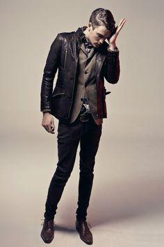 Ad Campaign: Intermezzo  Season: Fall Winter 2010  Model: #Josh #Beech