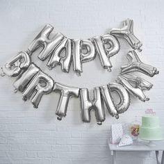 Happy Birthday μπαλόνι foil