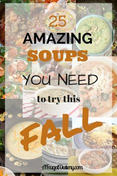 25 of the best soup recipes from around the world wide web.